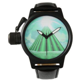 Mystical pyramid - 3D render Watch
