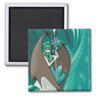Mystical Sea Witch Magnet