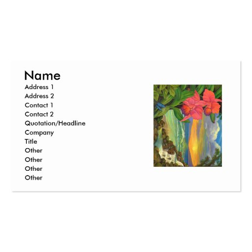 Mystical Seascape-Business Card