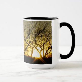 Mystical sundown mug