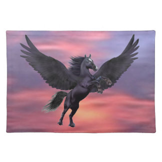 MYSTICAL SUNSET PEGASUS PLACEMAT