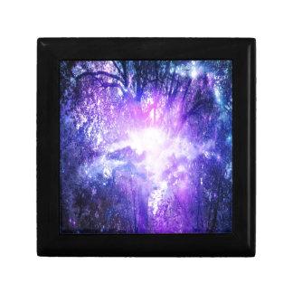 Mystical Tree Small Square Gift Box