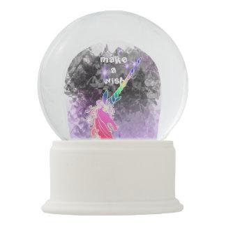 Mystical Wish Unicorn Snow Globe