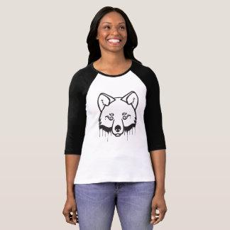 Mystical Wolf – Paint Drip T-Shirt