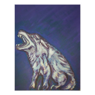 Mystical Wolf Posters