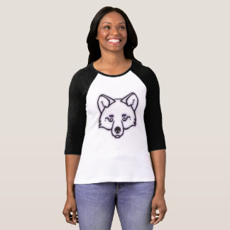 Mystical Wolf - Purple T-Shirt