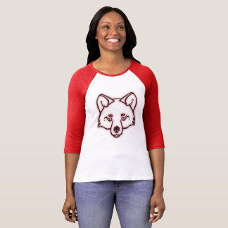 Mystical Wolf – Red T-Shirt