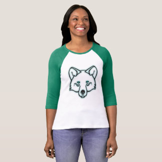 Mystical Wolf – Turquoise T-Shirt