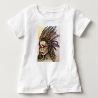 Mystical Woman Baby Bodysuit