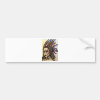Mystical Woman Bumper Sticker