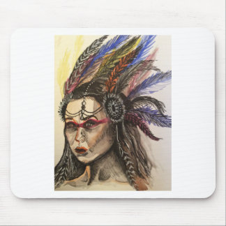 Mystical Woman Mouse Pad