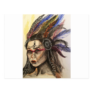 Mystical Woman Postcard