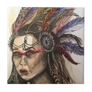 Mystical Woman Tile