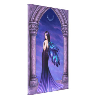 Mystique Fairy Wrapped Canvas Print