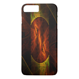 Mystique Jungle Abstract Art iPhone 7 Plus Case