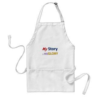 mystoryishisglory standard apron