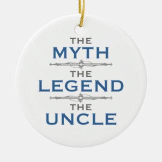 Myth Legend Uncle Ceramic Ornament