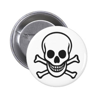 Mythbusters Skull Button