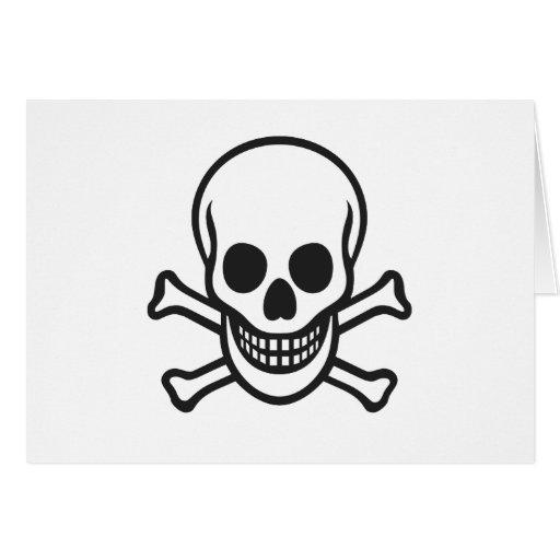 Mythbusters Skull Greeting Card