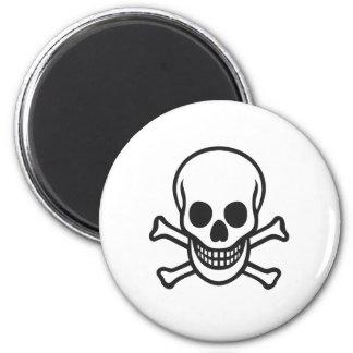 Mythbusters Skull Fridge Magnets