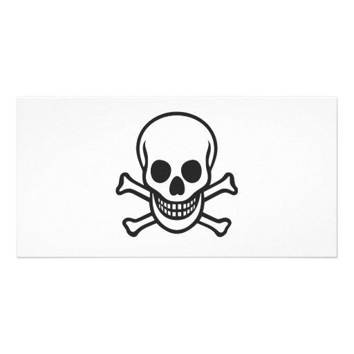 Mythbusters Skull Photo Card