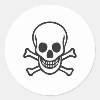 Mythbusters Skull Sticker