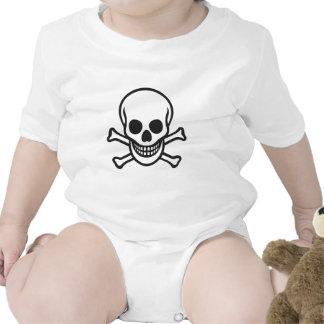 Mythbusters Skull Baby Bodysuit