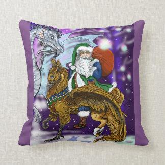 Mythic Santa Cushion