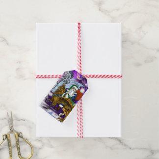Mythic Santa Gift Tags