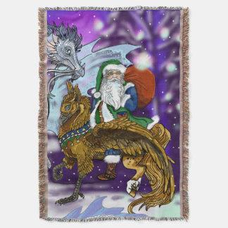 Mythic Santa Throw Blanket