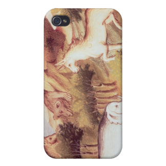 Mythical animals in the wilderness iPhone 4 covers