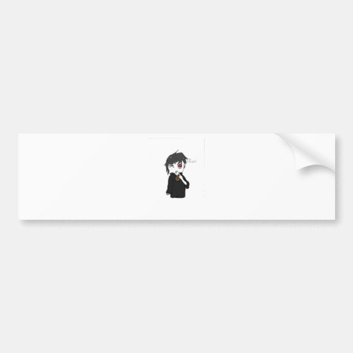 Mythical Creature Collection: I Is a Vampire Bumper Stickers