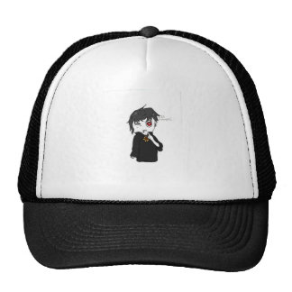 Mythical Creature Collection: I Is a Vampire Mesh Hats