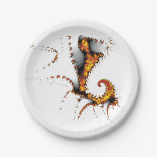 MYTHICAL CREATURES PAPER PLATE