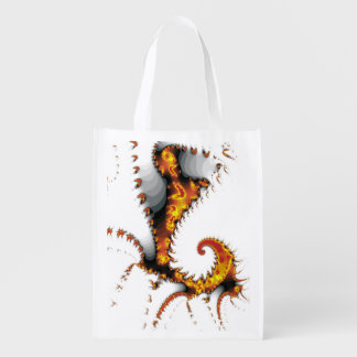 MYTHICAL CREATURES REUSABLE GROCERY BAG