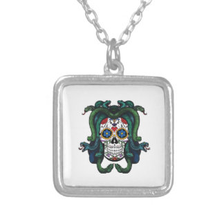 Mythical Creatures Silver Plated Necklace