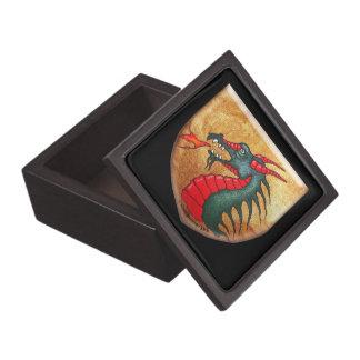 Mythical Dragon Shield Premium Keepsake Box