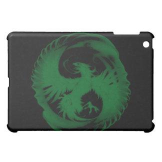 Mythical Emerald Green Phoenix iPad Cover