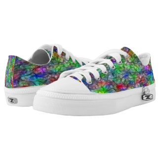 Mythical Feathers Printed Shoes