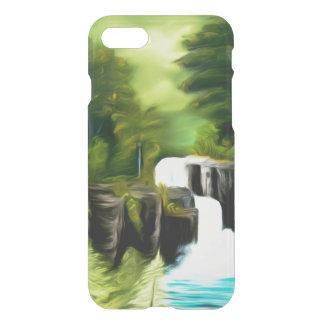 Mythical Green Fantasy Falls iPhone 7 Case