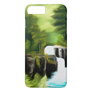 Mythical Green Fantasy Falls iPhone 7 Plus Case