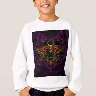 Mythical Neon Purple Wolf Sweatshirt