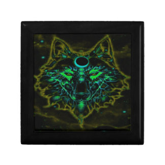 Mythical Neon Yellow Wolf Gift Box