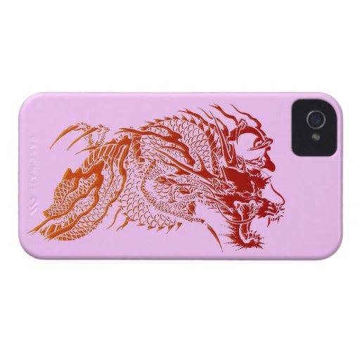 Mythical Red Dragon Design Blackberry Bold Case