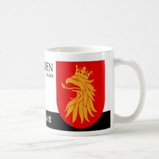 Mythological Griffin from Skane Sweeden Coffee Mug