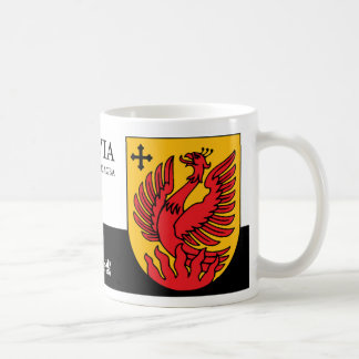 Mythological Phoenix Fire from Dagda Latvia Coffee Mug