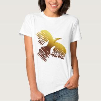 Mythological Phoenix Firebird T Shirt