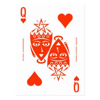 Mythos Astarte Queen of Hearts Postcard