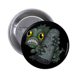 MYTHOS: Dagon 6 Cm Round Badge