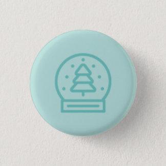 Myths and Mistletoe Snowglobe Button